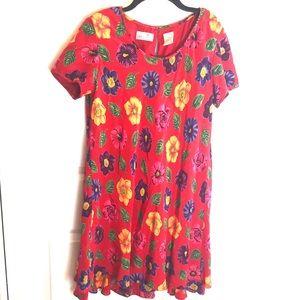 Floral dress Liz Claiborne dress